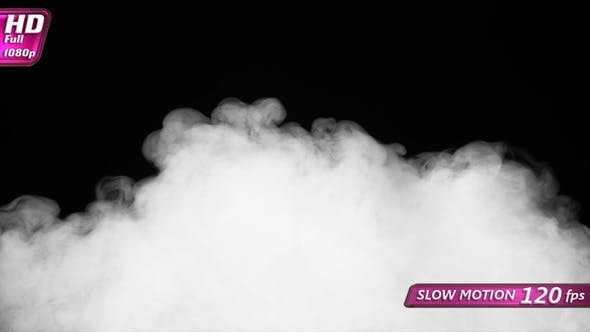 Flowy Smoky Transition Between Frames 5ver