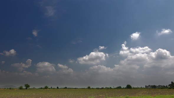 Thumbnail for Cumulus Clouds on Agricultural Fields