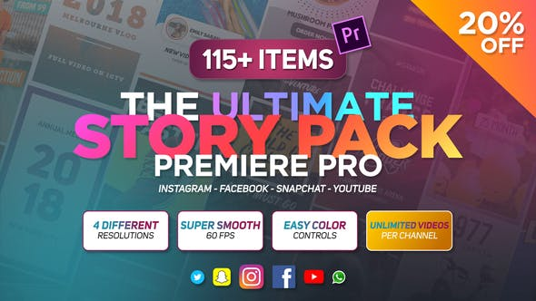 Cover Image for The Ultimate Story Pack - Premiere Pro