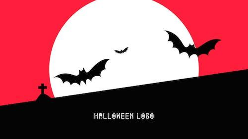 Flat Halloween Logo
