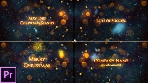 Christmas - Premiere Pro