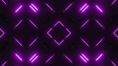 4k Pink Neon Light Disco Design Loops Pack
