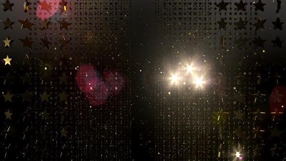 Thumbnail for Festive Stars Glitter 15 4K