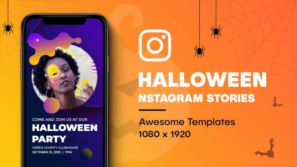 Thumbnail for Halloween Instagram Stories