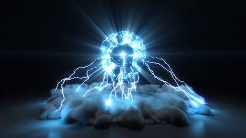 Lightning Burst Logo