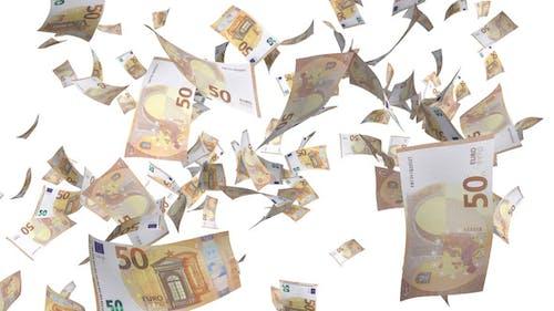 Euro-Banknoten sinken