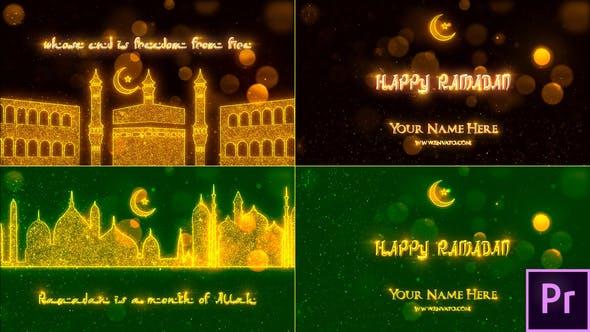 Thumbnail for Ramadan Opener - Premiere Pro