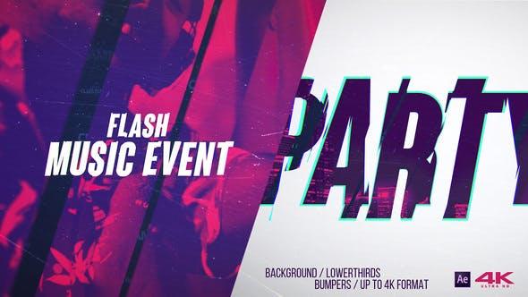 Flash Music Event v2.0