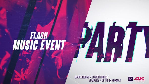 Flash Music Event v2.0