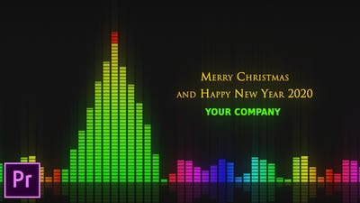 Audio Meter Christmas Wishes - Premiere Pro
