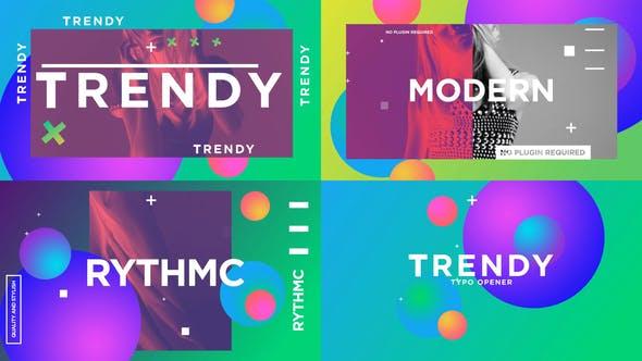 Thumbnail for Trendy Typo Opener