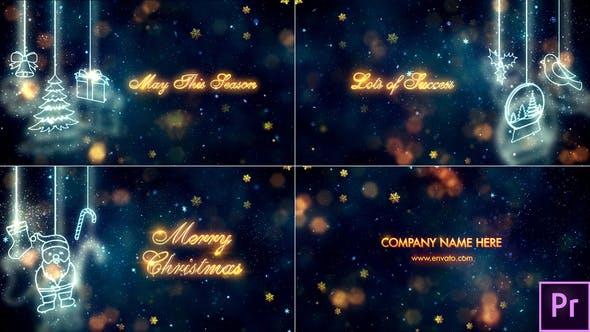 Thumbnail for Christmas Titles - Premiere Pro