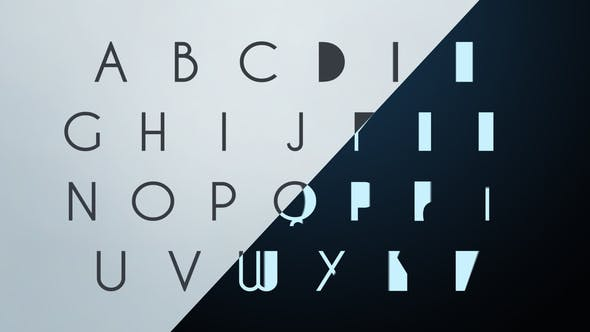 Thumbnail for Clean Corporate Animated Typeface