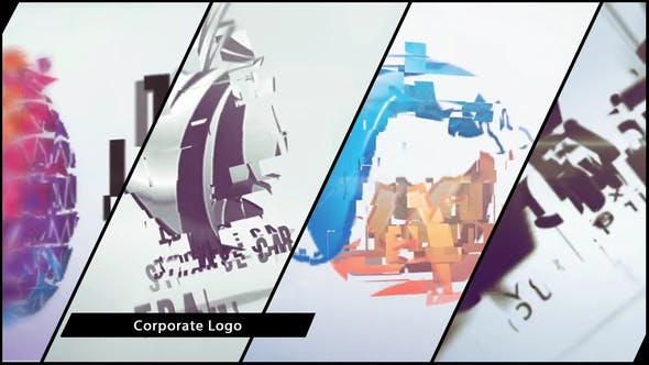 Thumbnail for Corporate Logo V18 Clean Transform