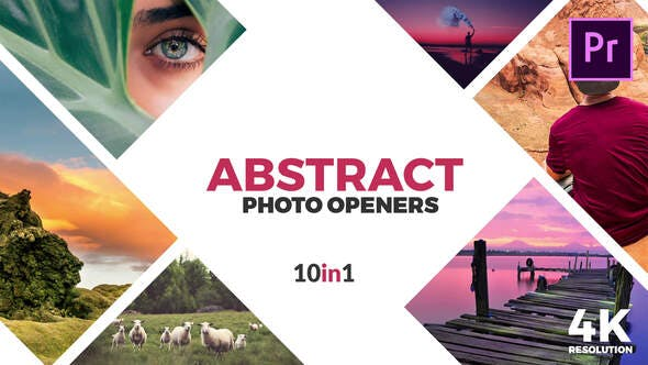 Thumbnail for Abstract Photo Openers - Logo Reveal