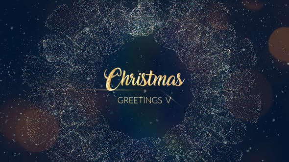 Thumbnail for Christmas Greetings V   After Effects Template