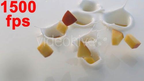 Fruit Splash in Milk