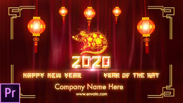 Thumbnail for Chinese New Year 2020 - Premiere Pro