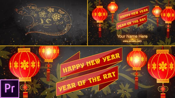 Thumbnail for Chinese New Year Opener 2020 - Premiere Pro