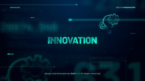 High Technology Logo Opener