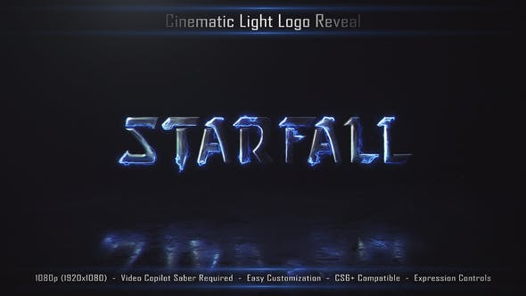 Cover Image for Cinematic Light Logo Reveal 3