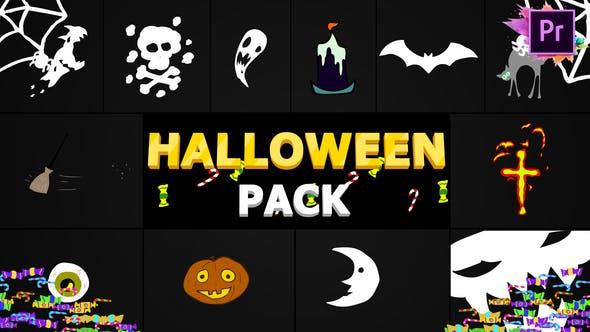 Thumbnail for Halloween Elements | Premiere Pro MoGRT