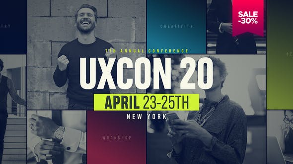Thumbnail for Event Promo // UXConference