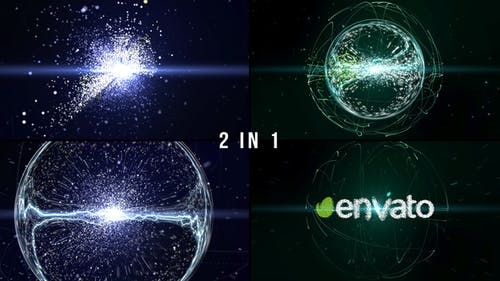 Particle Effect 2 (Explosion of Galaxy)