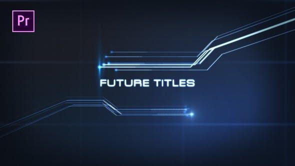 Thumbnail for Future Titles - Premiere Pro