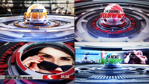 Thumbnail for 24 World News Complete Broadcast Package