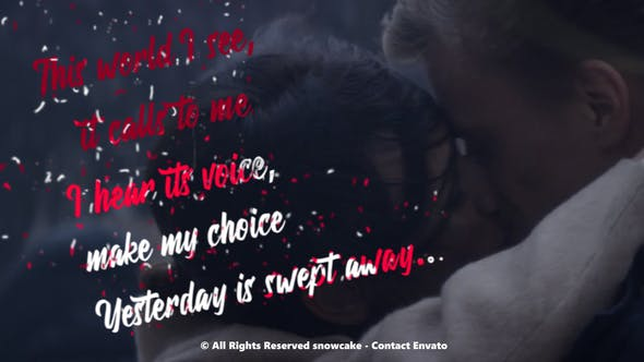 Thumbnail for Lyrics Template Liquid Style