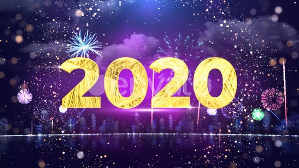 Thumbnail for New Year Countdown 2020