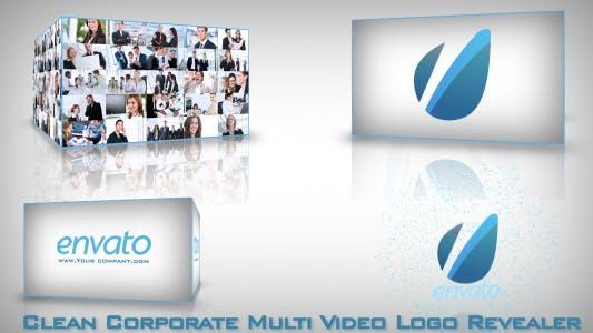 Thumbnail for Clean Corporate Multi Video-Logo Opener