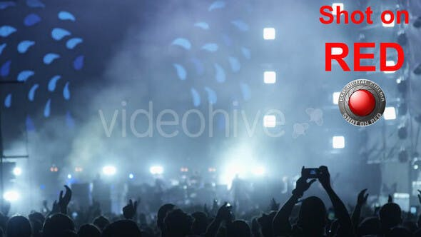 Thumbnail for Night Show with People at Concert