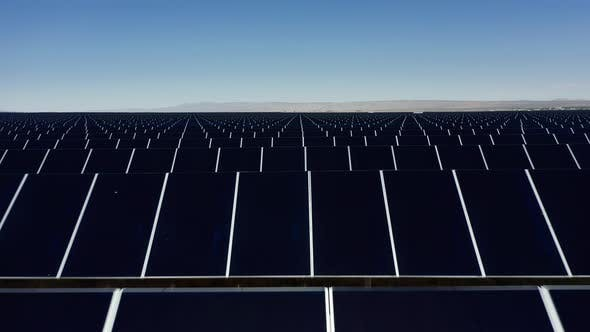 Thumbnail for Solar Panels on the Background of Blue Sky, The Concept of Clean, Green Energy