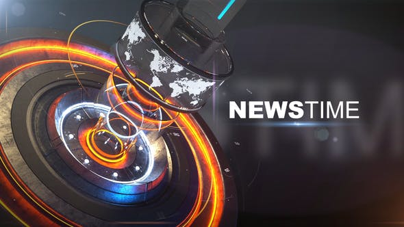 Thumbnail for News Time Broadcast Opener
