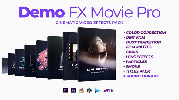 Thumbnail for Demo FX Movie Pro cinematic effects