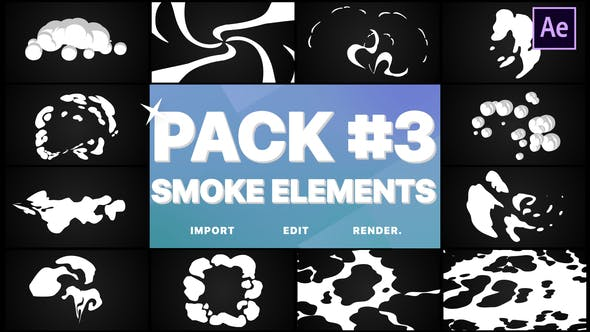 Thumbnail for Smoke Elements Pack 03