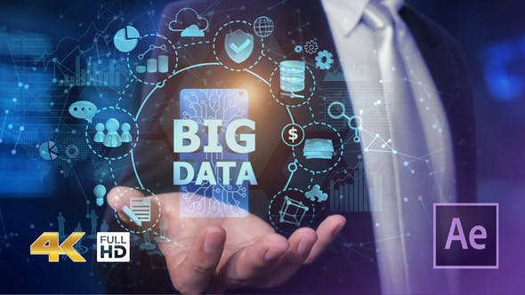 Thumbnail for Businessman Open Hand Big Data