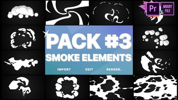 Thumbnail for Smoke Elements Pack 03 | Premiere Pro MoGRT