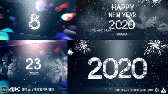 Thumbnail for New Year Diamond Countdown v2 4K