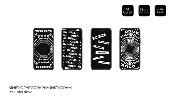 Kinetic Typography Instagram
