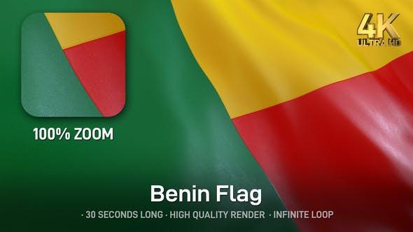 Thumbnail for Benin Flag - 4K