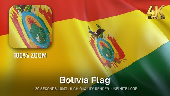 Thumbnail for Bolivia Flag - 4K