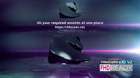 Thumbnail for Clean 3D Logo E3D