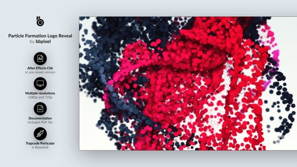 Thumbnail for Revelar el Logo de la formación de partículas