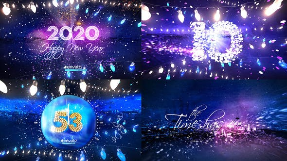 Thumbnail for New Year Eve Party Countdown 2020