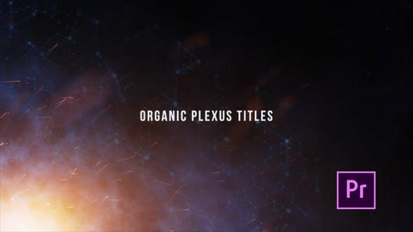 Organic Plexus Titles - Premiere Pro