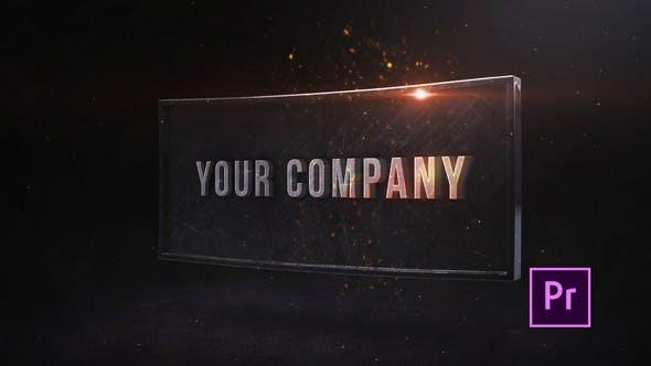 Industrieller Impact Titel - Premiere Pro