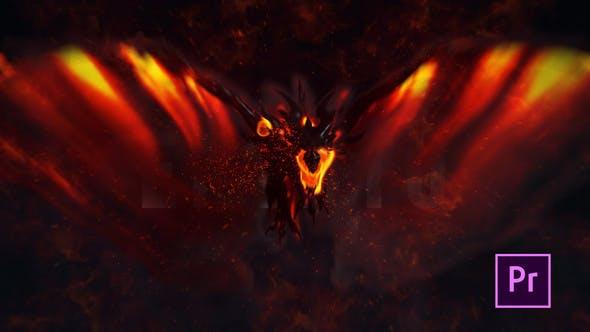 Fire Dragon Titel - Premiere Pro